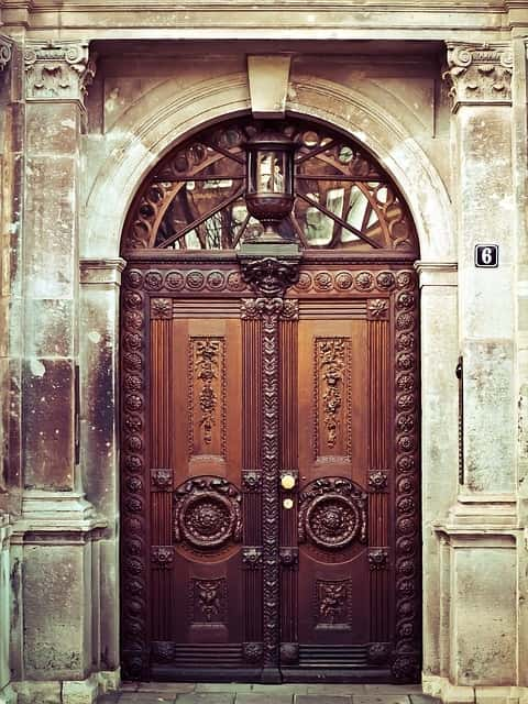 Beautiful & Old Door Design Ideas