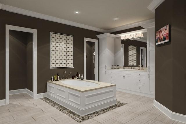 DIMGRAY Bathroom Tiles Designs