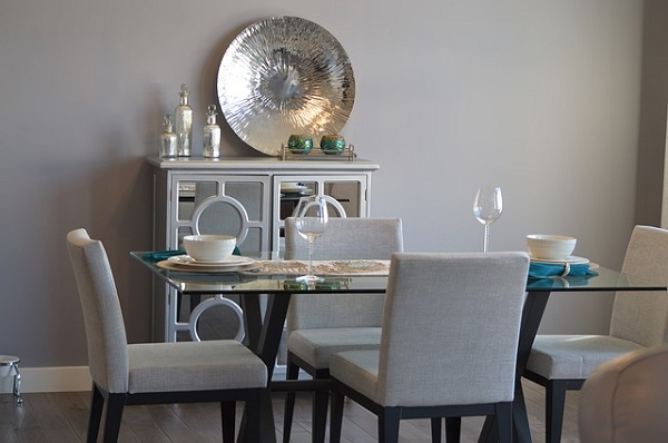 dinning room table decor