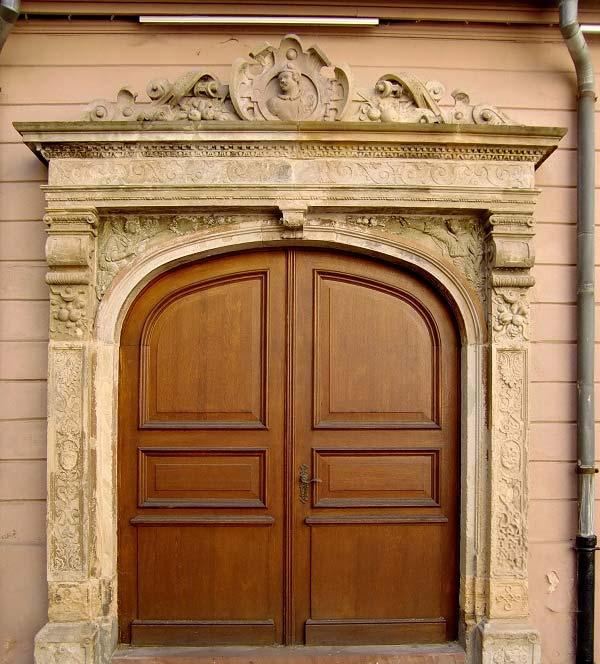 Wooden Door Cultural