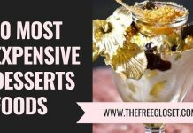 Expensive Desserts Foods