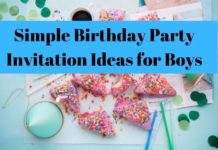 Birthday Party Invitation Ideas