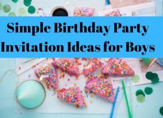 Birthday Party Invitation Ideas