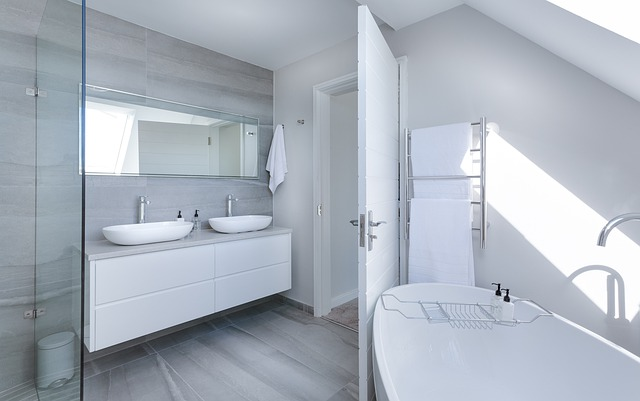Ash White Bathroom Design