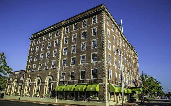 Hawthorne Hotel most haunted hotel