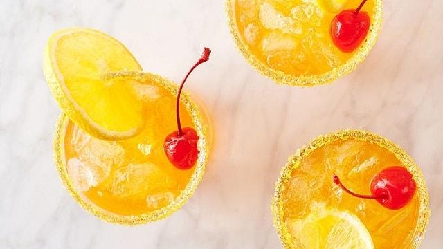 Orange Creamsicle Shirley Temple