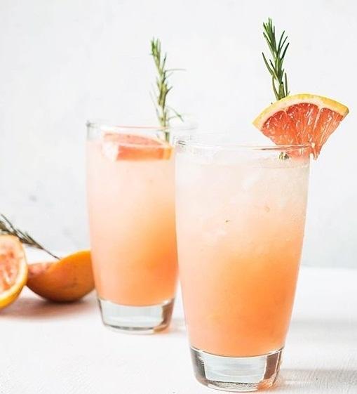 Paloma Fizz Mocktails