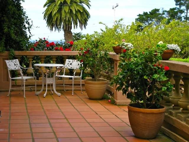 outdoor garden renovation