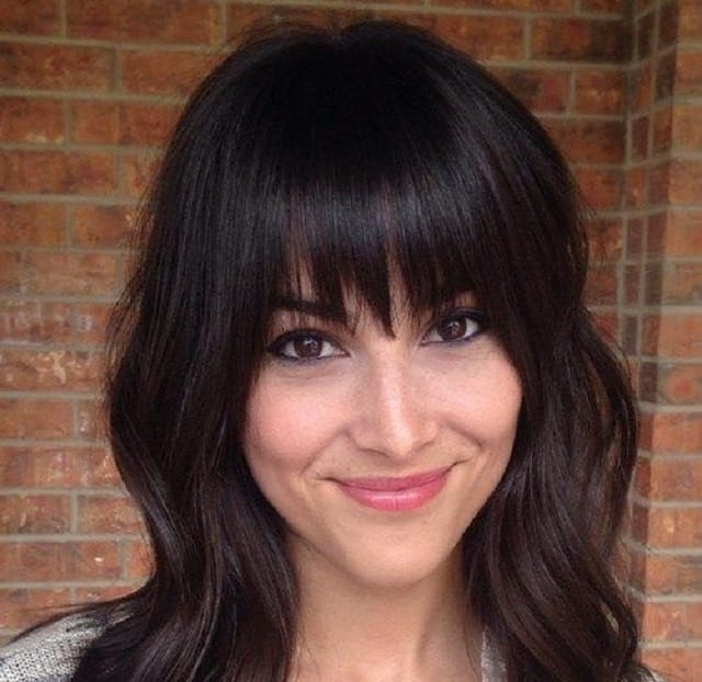 Shoulder Length Hair With Bangs - Hairstyle
