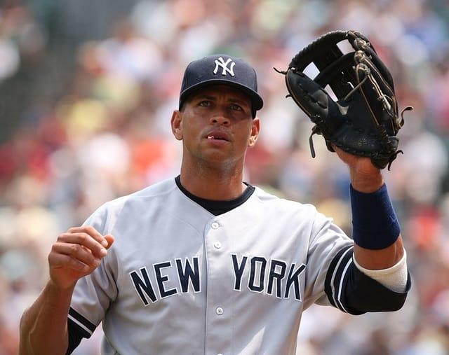 Alex Rodriguez - most famous athletes