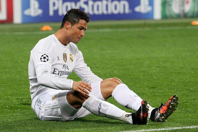 Cristiano Ronaldo - most popular athletes