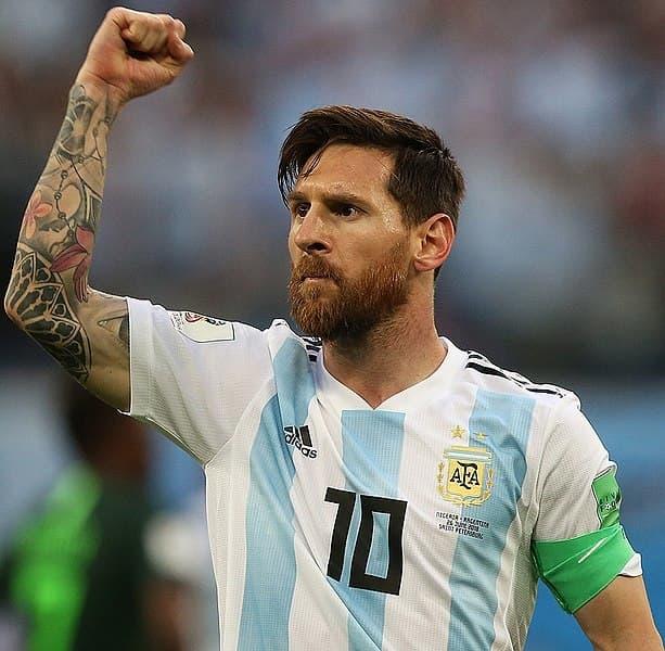 Lionel Messi - most popular athletes