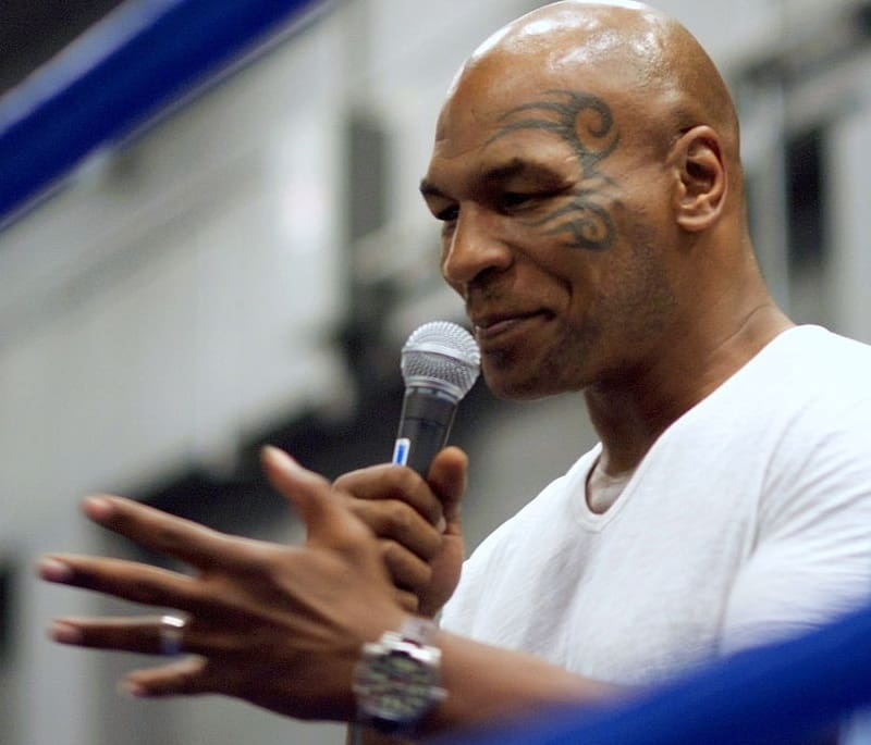 Mike Tyson - most popular athletes