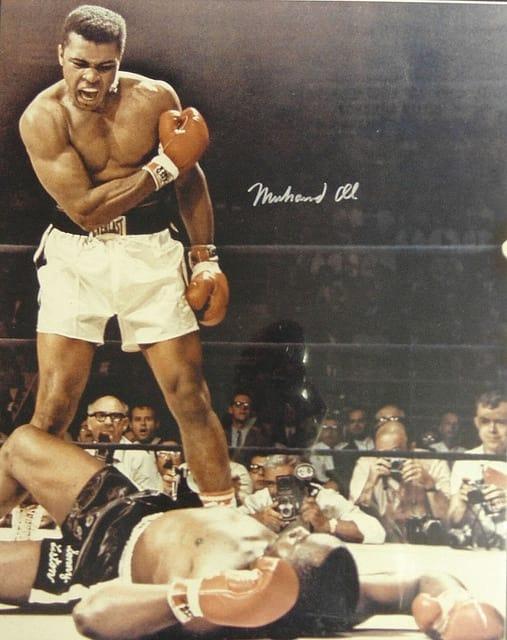 Muhammad Ali - most famous athletes