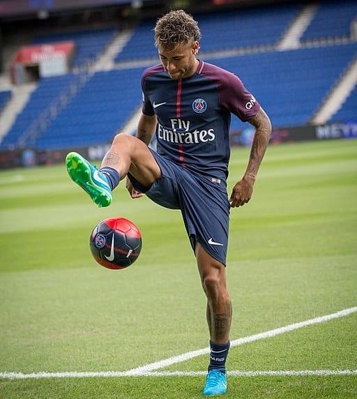 Neymar - famous athletes