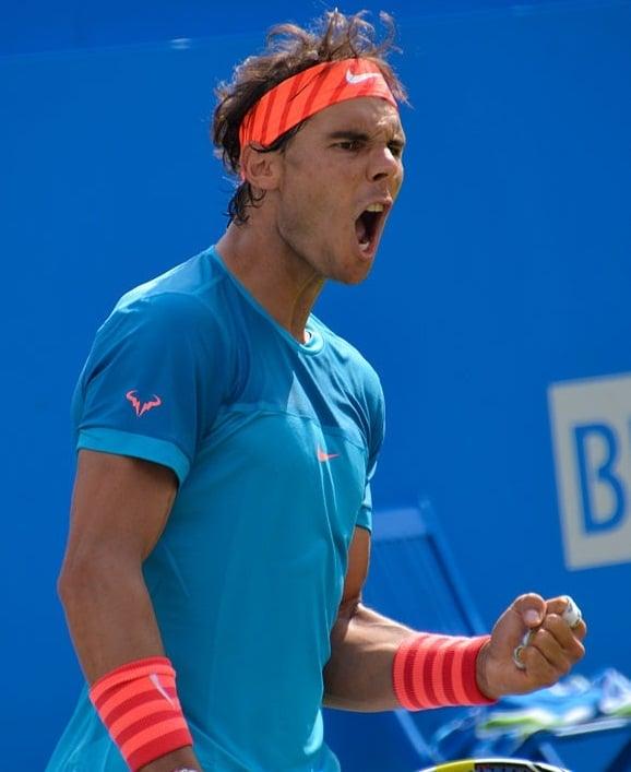 Rafael Nadal - most popular athletes