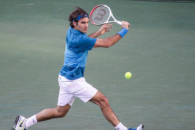 Roger Federer - most popular athletes