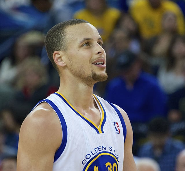 Steph Curry - most famous athletes