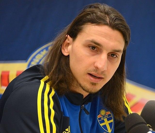 Zlatan Ibrahimovic - famous athletes