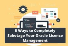 Oracle Licence Management