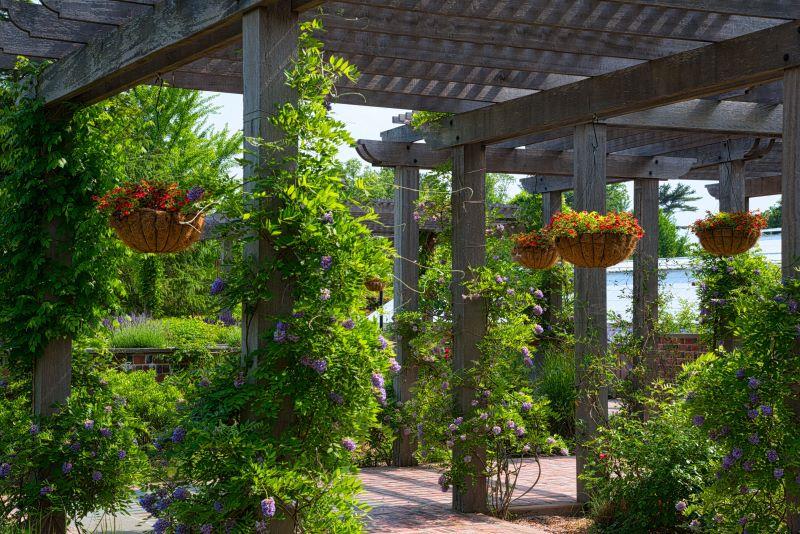 Outdoor Hanging Garden