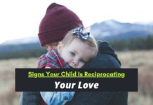 Child Is Reciprocating Your Love