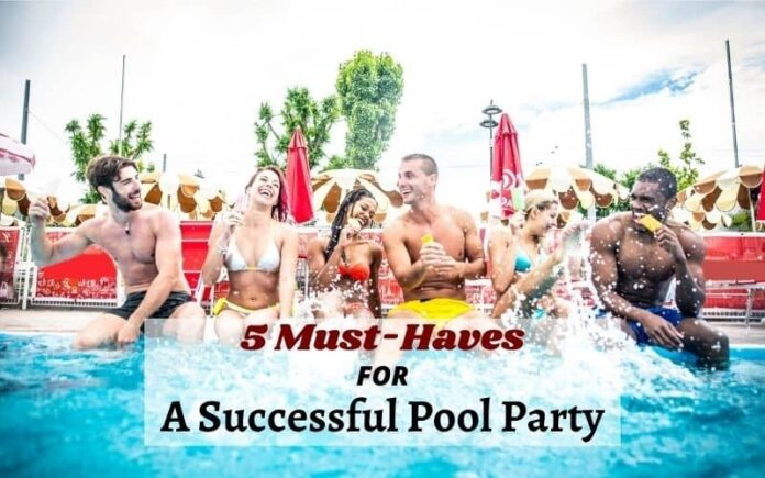 Successful Pool Party