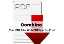 Combine Your PDF Files With PDFBear For Free!