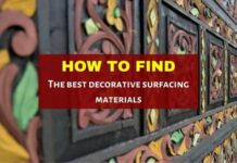 decorative surfacing materials