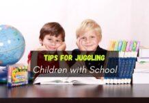 Children with School