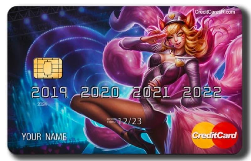 random credit card