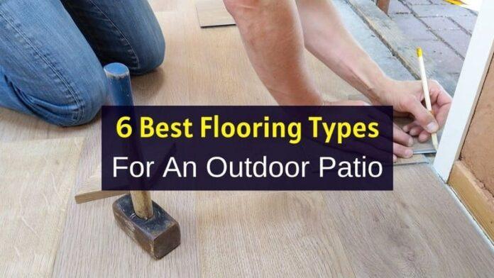 DIY Outdoor Flooring