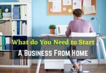 Start Home Business