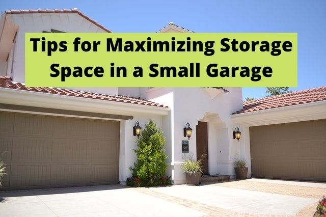 Storage Space in Small Garage